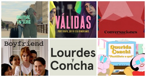 The finalists of the 8th Fiction Pilots Showcase and the first edition of 'Los Making-of de DAMA'